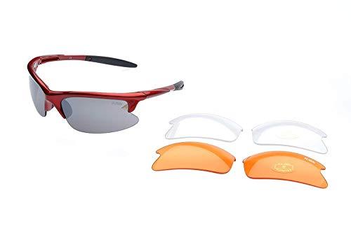 RAVS Gafas Gafas Gafas Kite Ciclismo Gafas Gafas de Sol Iinkl. Softbag...