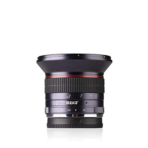 Meike MK 12 mm f/2.8 obiettivo grandangolare messa a fuoco manuale per fotocamere Panasonic Olympus Mirrorless