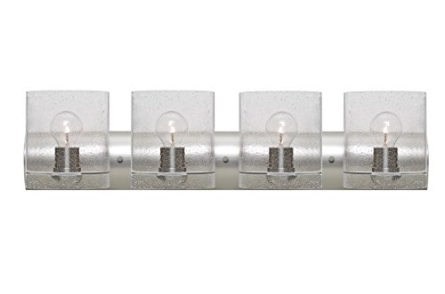 Besa 4WZ-CELTICBB-SN Contemporary Modern Four Light Wall Sconce from Celtic Collection in Pewter, Nickel, Silver Finish,