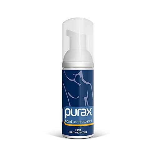 Purax Hand Antitranspirant - Handschaum, 50ml