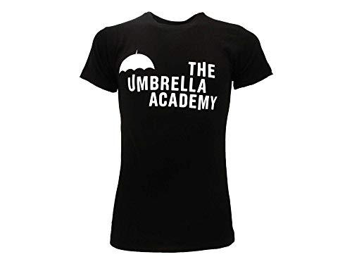 Fashion UK T-Shirt The Umbrella Academy Serie TV Netflix TV Maglia Maglietta Originale Ufficiale (S)