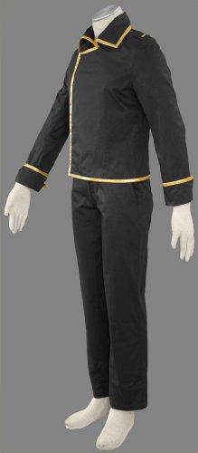 『BS343 銀魂-ぎんたま コスプレ衣装 cosplay ♥真選組(しんせんぐみ) 2点セット ★CV-057-C04 (L)』の1枚目の画像
