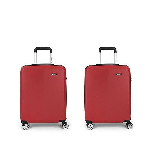 Set 2 Maletas cabina Gabol Mondrian Rojo