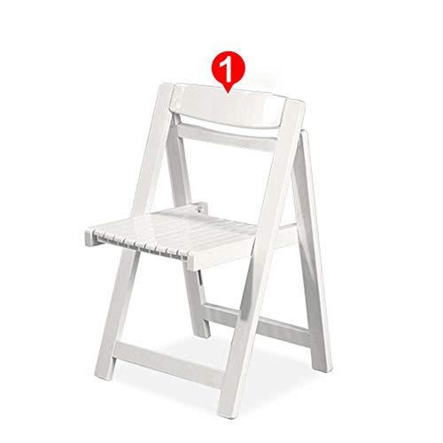 Esszimmerstühle 4er-Set Klappstühle aus Holz Küchenstühle Esszimmergarnitur Esstisch und Stühle Wohnzimmergarnitur weiß
