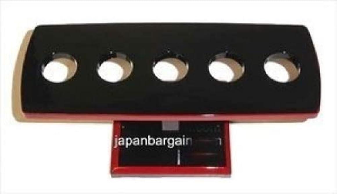 健康朝ごはん伝統(Plastic-5Holes) - Japanese Temaki Sushi Hand Roll Stand Holder WO301