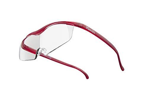 Hazuki ハズキルーペ 直営店 公式店 限定 倍率交換保証付き ラージ1.6倍 クリアレンズ ルビー ハズキ 拡大鏡 ルーペ メガネ型 眼鏡型 めがね型 メガネ 眼鏡 めがね 日本製 MADE IN JAPAN ギフト