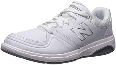 New Balance womens 813 V1 Lace-up Walking Shoe, White, 10.5 XX-Wide US