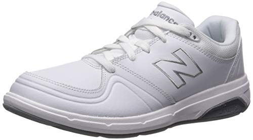 New Balance womens 813 V1 Lace-up Walking Shoe, White, 10.5 XX-Wide US