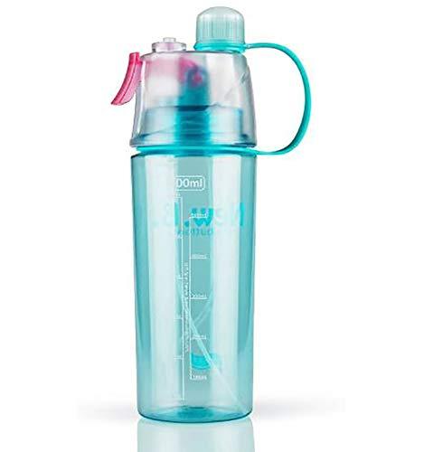 Bottiglia Acqua Borraccia d'Acqua Sportiva Bambini Spray BPA Borraccia di Perdite con Filtro per Palestra Sport Corsa Ciclismo Arrampicata 600 ml
