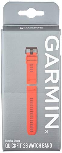 QuickFit Silikon Armband 22mm, kompatibel mit Approach, fenix 5, fenix 5 Plus, Forerunner, Instinct