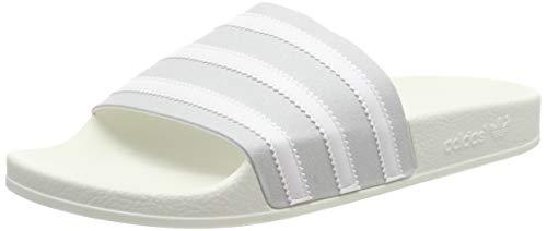 adidas Adilette Zapatos de playa y piscina Hombre, Gris (Grey Two F17/Ftwr White/Off White Grey Two F17/Ftwr White/Off White), 50 EU (14 UK)