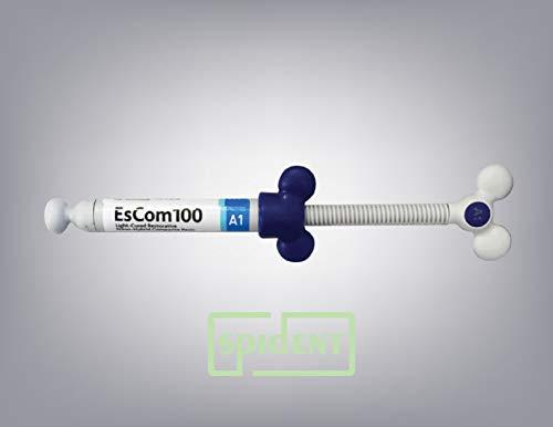 Spident Escom100 Syringe Shade A1- universal composite resin syringe, 4g x 1 syringe
