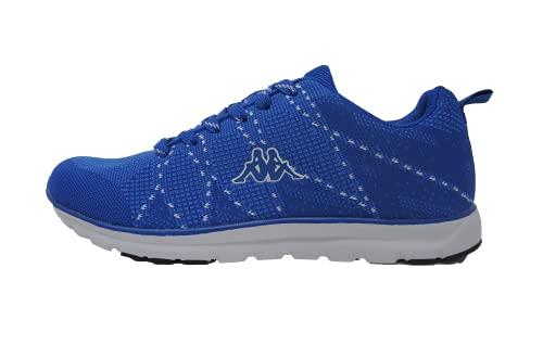 Kappa Scarpa Mokers Sneakers Uomo. Ultraleggera con Logo Applicato e Inserti in Contrasto Colore. Scarpa Running, Tempo Libero