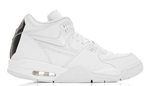 [ナイキ] AIR FLIGHT 89 LE QS メンズ White Ostrich Leather バスケットボール 804605-100 (US13(31cm)) [...