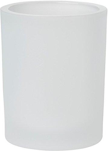 Duni Duni Kerzengläser für Nachfüller und Teelichte Flexible 100 x 80 mm Flexible, frosted Glas 1 Stück