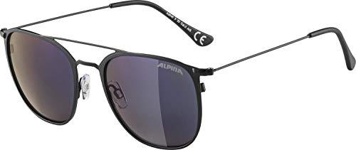 ALPINA ZUKU Sportbrille, Unisex– Erwachsene, black matt, one size