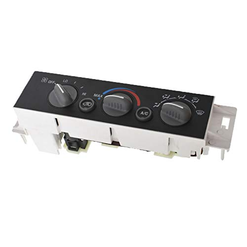 labwork AC Heater Control Panel w/o Rear Window Defogger 9378815 Replacement for Chevy GMC C2500