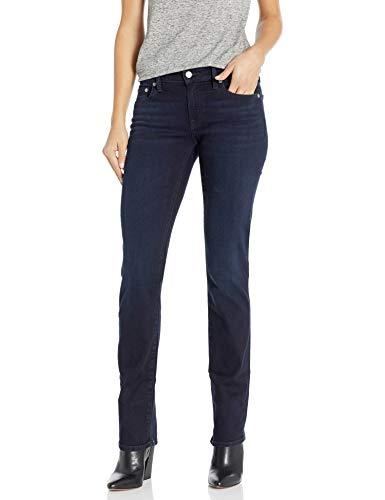 Lucky Brand Women's Mid Rise Sweet Straight Jean, Jefferson, 30W X 32L