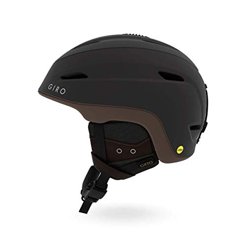Giro Herren Zone MIPS Skihelm, m Black/Dark Brown mo rockin19, M