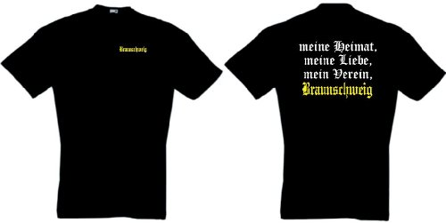 world-of-shirt Herren T-Shirt Braunschweig Ultras meine Heimat