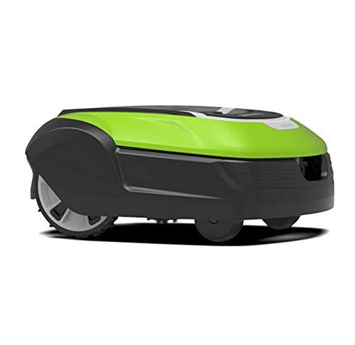 Robótica cortadora de césped, con Pilas Segadora-8,7-Pulgadas de siega Inteligente Robot cortacésped, Conveniente for Las Yardas hasta 1500m2. SLONGS (Color : B)
