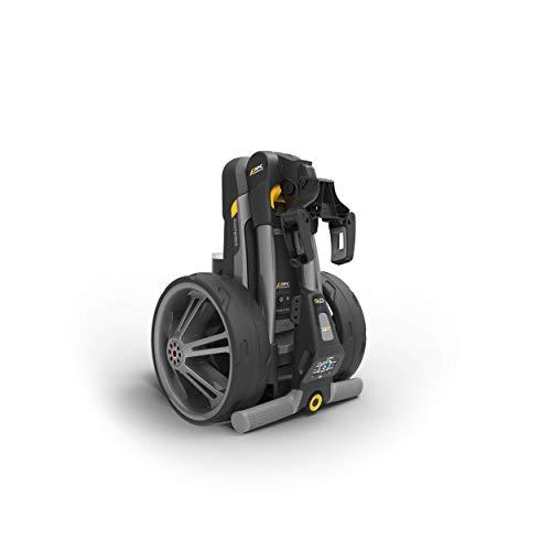 PowaKaddy Compact CT6 Gris Metalizado Bateria 36 Hoyos Litio