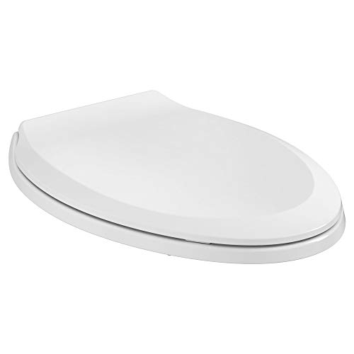 American Standard 5503A00B.020 Slow Elongated Closed Front Toilet Seat, White
