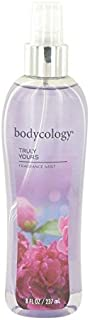 Bodycology Truly Yours by Bodycology Fragrance Mist Spray 8 oz for Women