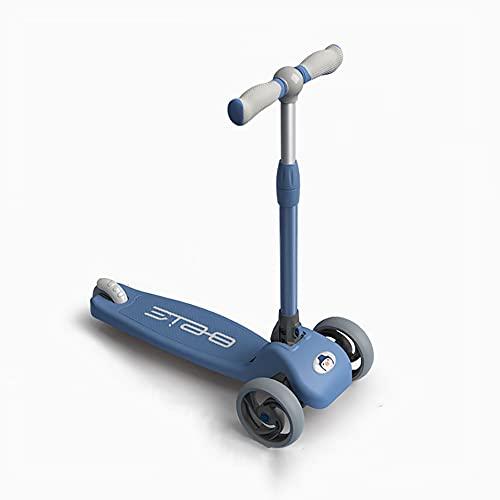 XCVMKH Scooters para niños para niños y niñas de 1-3-6 años Scooter plegable para bebés en un pie Patinete yo-yo para bebés Patinete de equilibrio multifuncional Patinete de dirección de gravedad de d