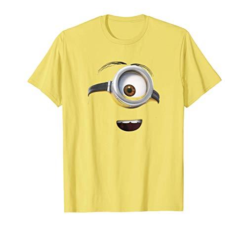 Minions Stuart Big Smiling Face Camiseta