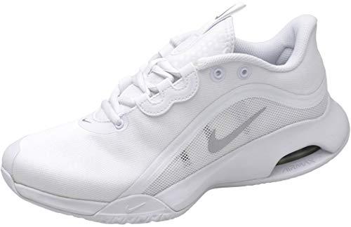 Nike Wmns Air MAX Volley, Zapatillas Deportivas Mujer, White Mtlc Silver, 44.5 EU
