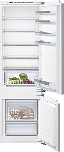 Siemens KI87VVFF0 iQ300 Einbau-Kühlgefrierkombination / F / 259 kWh/Jahr / 272 l / lowFrost / Big Box / LED Beleuchtung