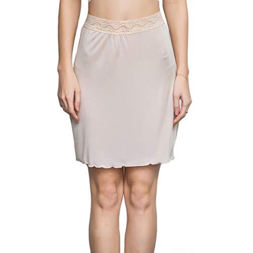 kivie Enaguas Cortas Lencería Plain Falda Enaguas Minifalda Lencería Ropa Interior Mujer