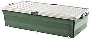 Lpiotyucwh Paniers et Boîtes De Rangement, Sous le conteneur de stockage de lit, pour couvertures Vêtements Couetters Bin ...