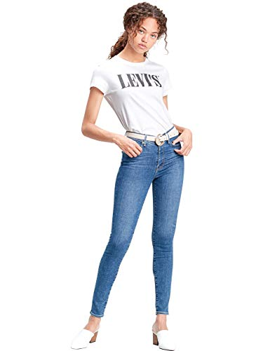 Levis® Damen Jeans 310 Shaping Super Skinny Fit - Blau - Medium Blue W25-W34 76% Baumwolle Denim, Größe:W 34 L 30, Farbvariante:Medium Blue (0049)