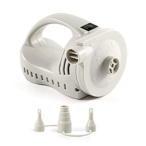 CHIBO Mini bomba eléctrica, bomba de aire eléctrica externa portátil bomba de inflado alta presión de flujo 370L/min inflación rápida capacidad 4000mAh