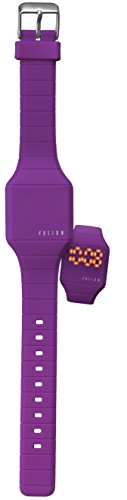 Dakota Girl's Quartz Rubber and Silicone Casual Watch, Color:Purple (Model: 52564)