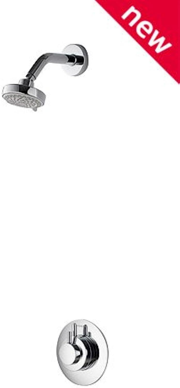 Aqualisa DRM001CF chrom Dream Thermostat-Mischarmatur für Duschen mit Harmony