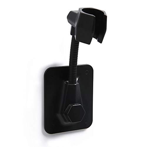 AMACOAM Duschhalterung ohne Bohren Handbrause Halterung Duschkopfhalterung Winkel Verstellbar Brausehalter Duschhalterung Halterung Wandhalterung für Badezimmer Duschhalterungen Schwarz