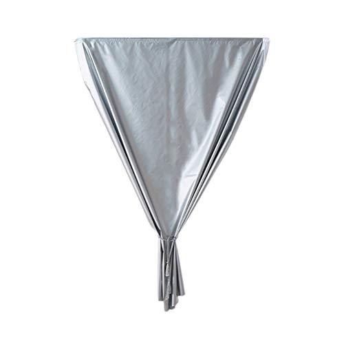 Hahepo Cortinas opacas, sin necesidad de impactos, cortina de protección solar, tela impermeable, protección UV para dormitorio, cortina térmica opaca
