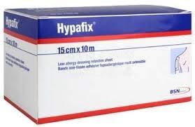 HYPAFIX - Rollo de retención de tela no tejida, 15 cm x 10 m (1 unidad)