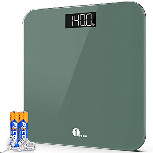 1byone Digital Body Weight Bathroom Scales High Precision Weighing Scales with...
