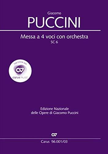 Messa a 4 voci con orchestra (Klavierauszug): Messa di Gloria SC 6