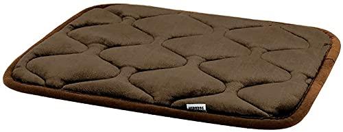Hero Dog Small Dog Bed Mat 21 Inch Crate Pad Anti Slip Mattress Washable for Pets Sleeping (Dark Brown XS)