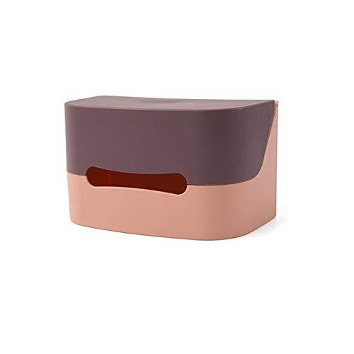 Kentop Serviette en Papier Murale pompant la boîte de Papier essuie-Tout sans poinçon de Toilette Rouleau de Papier Collant,Violet