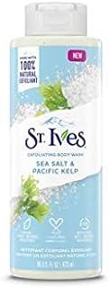 St. Ives, Exfoliating Body Wash, Sea Salt & Pacific Kelp, 16 fl oz (473 ml)
