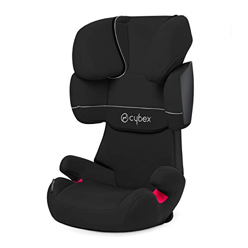 Cybex Silver Solution X, Autositz Gruppe 2/3 (15-36 kg), ohne Isofix, Kollektion 2018, Pure Black