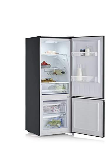 SEVERIN KGK 8971 - Frigorífico y congelador (153 L/52 L), color negro