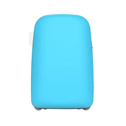 LYLSXY Coche Mini Refrigerador, Mini Nevera Refrigerada Y Climatizada Refrigeradores Compactos, Coche Hogar Bajo Ruido Capacidad de Gran Capacidad para una Sola Puerta para Disfrutar de un Dormitorio