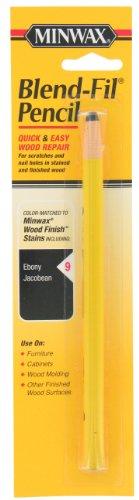 Minwax 110096666 No 9 Blend-Fil Wood Repair Stain Pencil, Ebony Jacobean
